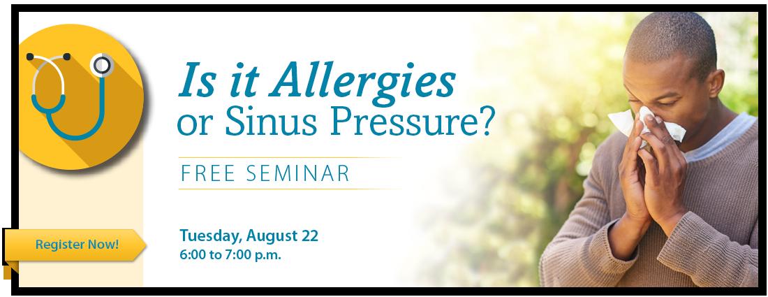 Ear, Nose and Throat Allergies Seminar