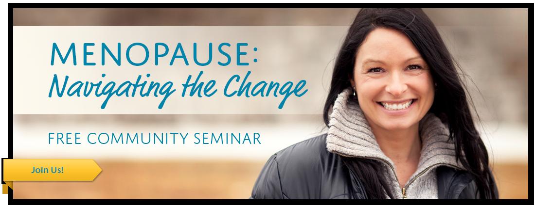 Menopause Seminar Microsite banner