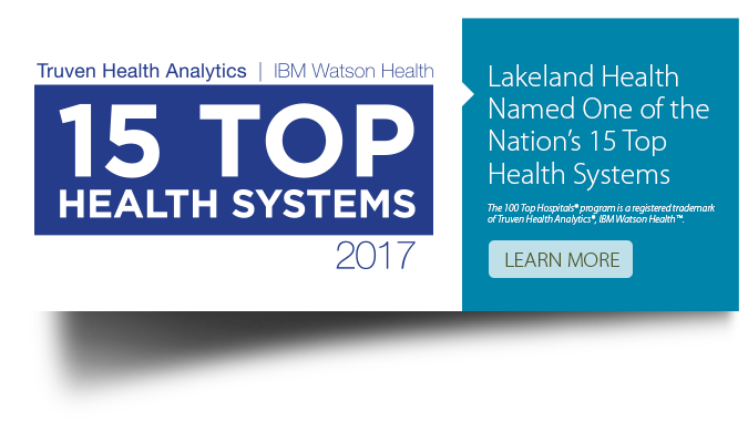 15 Top Hospital Award Banner