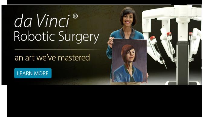 da Vinci Surgery Banner