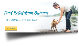Click here to Find Relief from Bunions.