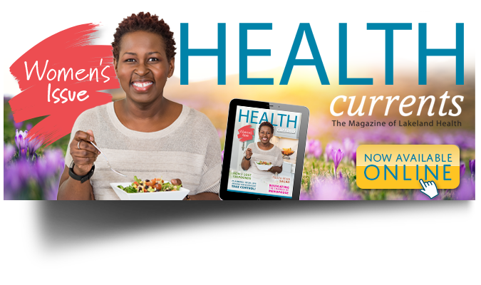 Health Currents Womens Issue Home Page Banner