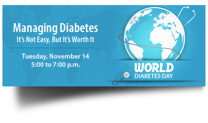 World Diabetes Day Home Page Banner