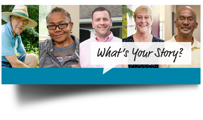 Whats Your Story Banner
