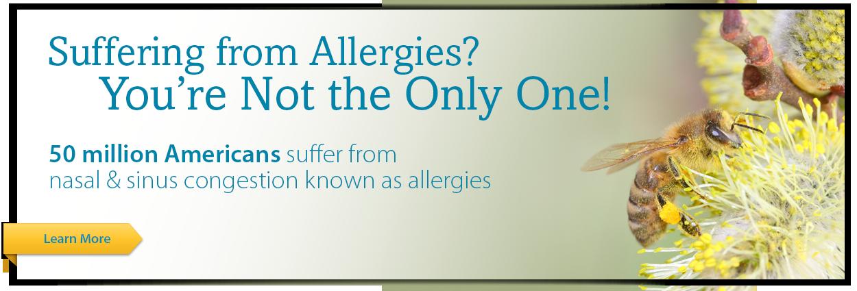 Allergies banner
