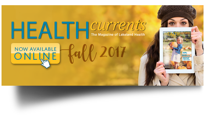HealthCurrents Fall 2017 Banner