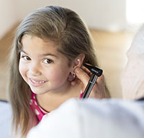 Girl Ear Health