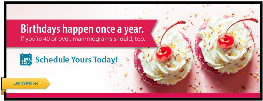 Mammogram Banner