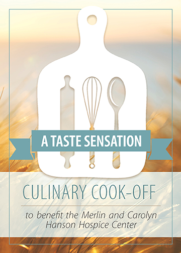 taste sensation culinary cook-off to benefit the Merlin and Carolyn Hanson Hospice Center