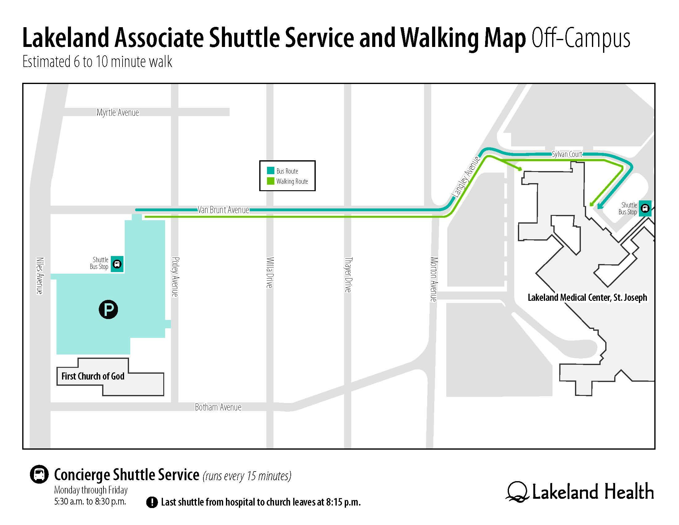 LakelandShuttleService-WalkingMap