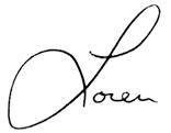 Dr Hamel signature