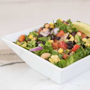 Image of bean salad in bowl