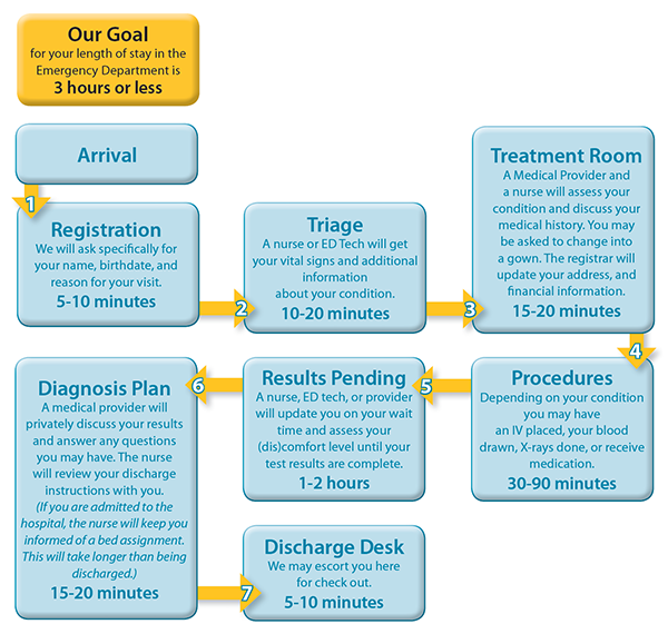 Emergency Department Process Flow