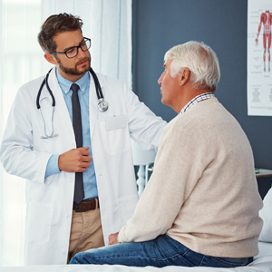 Image of Provider Visiting with Patient