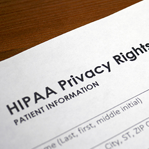 Image of HIPPA Privacy Form
