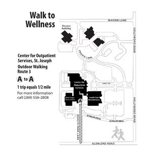 Lakeland Campus Map.Lakeland Campus Walking Maps