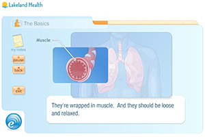 Screenshot of Asthma Tutorial