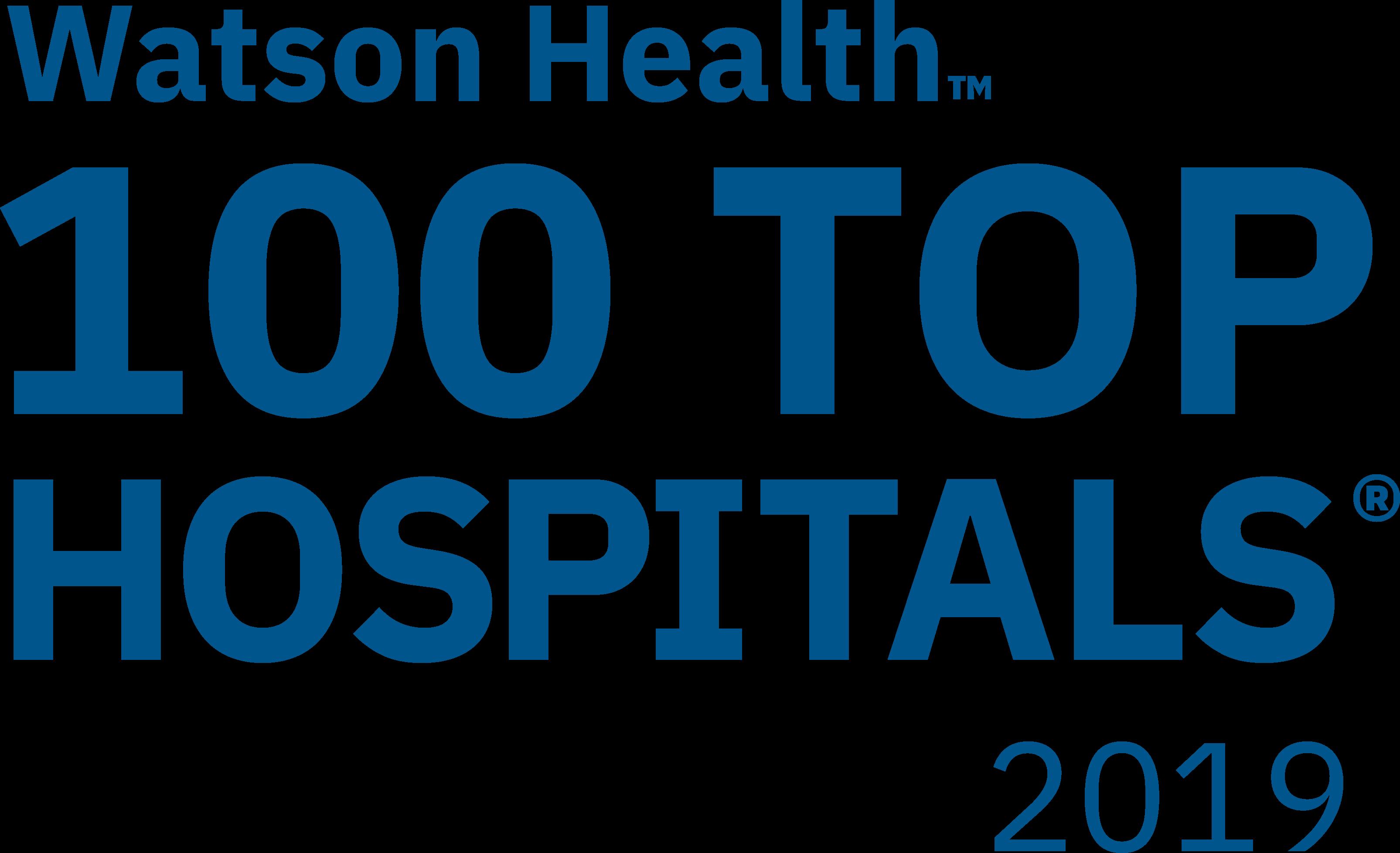 100 Top Hospitals 2019