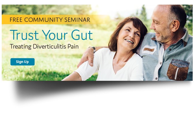 Click to learn more about an upcoming seminar about Diverticulitis