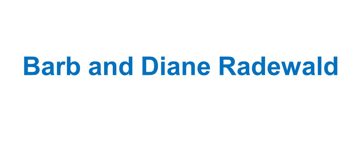 Barb and Diane Radewald