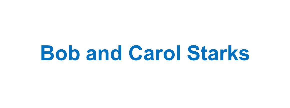 Bob and Carol Starks