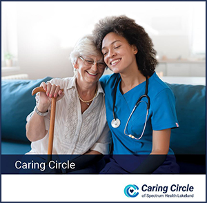 Image of the Caring Circle overview brochure.