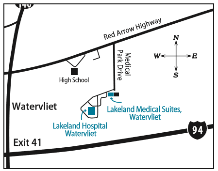 Directions Map to Community Medical Center