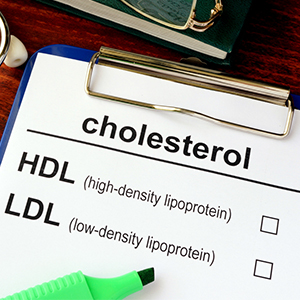 The difference between HDL and LDL