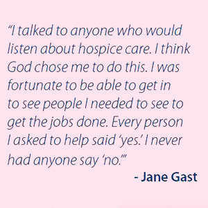 Honoring Jane Gast
