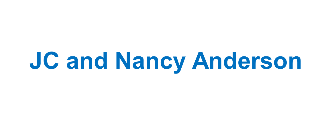 JC and Nancy Anderson