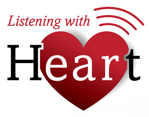 listening with heart logo