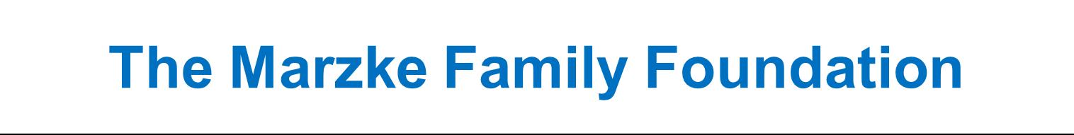 Marzke Family Foundation