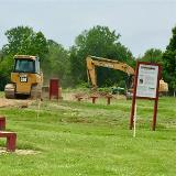Image of Earth Moving Equipment at Project Site
