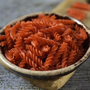 Uncooked Red Lentil Pasta
