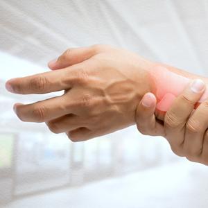 Rheumatoid Arthritis in wrist