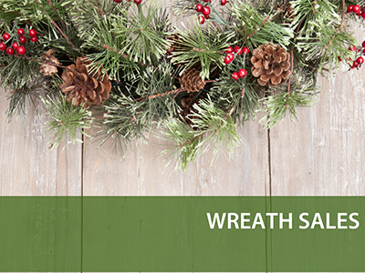 wreath sales