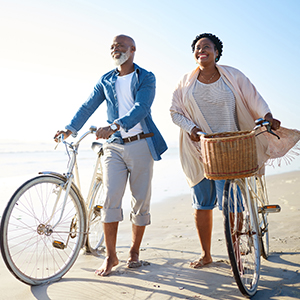 Image of Couple with Bicycles