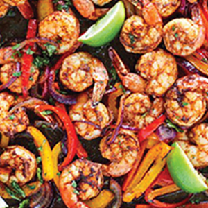 Image of Shrimp, Pepper and Lemon Recipe
