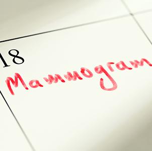 Mammogram Calendar
