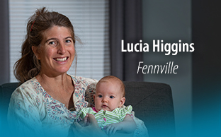 Image of BellaNova Women's Health patient, Lucia Higgins