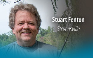 Image of patient, Stuart Fenton