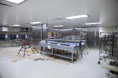 Decontamination area, Central Processing