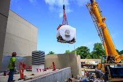 Delivery of MRI machine