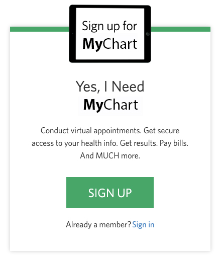 Image of Sign Up Banner