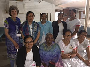 Dr. Barbara Boyd and a team from Bangladesh
